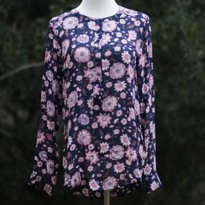 NEW Lucky Brand Floral Top – S